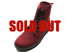 SHOREDITCH 7EYE BOOT(13524603)Cherry Red Canvas 詳細ページへ
