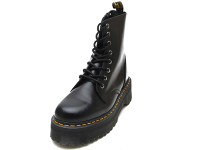 QUAD RETRO JADON 8EYE BOOT(15265001)BLACK POLISHED SMOOTHのメイン商品写真