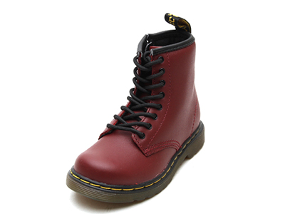 KIDS INFANTS LACE BOOT(15373601)CHERRY RED SOFTY Tのメイン商品写真