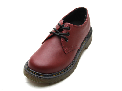 KIDS JUNIOURS LACE SHOE(15378601)CHERRY REDのメイン商品写真