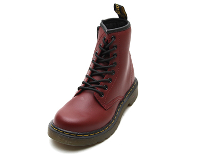 KIDS JUNIOURS LACE BOOT(15382601)CHERRY RED SOFTY Tのメイン商品写真