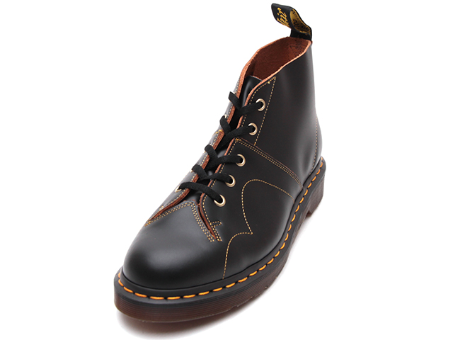 ARCHIVE CHURCH LACE LOW BOOT(16054001)BLACK VINTAGE SMOOTH			のメイン商品写真