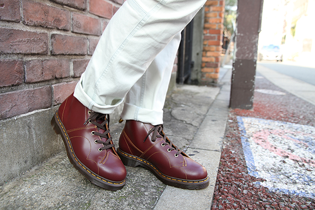 ARCHIVE CHURCH LACE LOW BOOT(16054601)OXBLOOD VINTAGE SMOOTHのメインイメージ