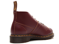 ARCHIVE CHURCH LACE LOW BOOT(16054601)OXBLOOD VINTAGE SMOOTHの右斜め後ろ向き写真