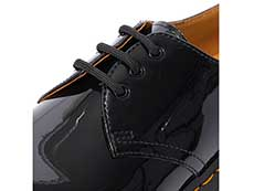CORE 1461 3EYE SHOE(10084001)BLACK PATENT LAMPERのホール部分写真