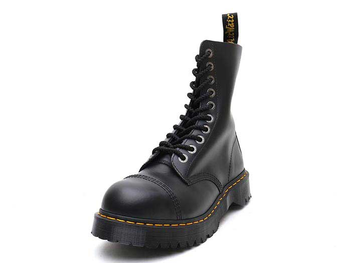 CORE 8761Z BXB 10EYE BOOT(10966001)BLACK FINE HAIRCELL 詳細ページへ