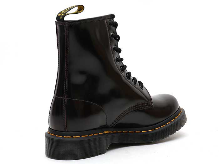 CORE 1460W 8EYE BOOT(13661601)CHERRY REDの右斜め後ろ向き写真