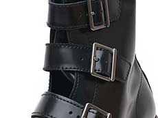 CORE BLAKE BELTED BOOT(13665001)BLACK BUTTEROの吐き口部分イメージ