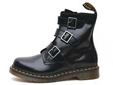 CORE BLAKE BELTED BOOT(13665001)BLACK BUTTEROの左横向きイメージ