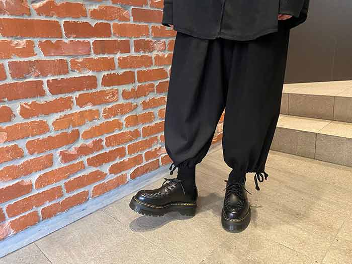 QUAD RETRO ASHLEY CREEPER SHOE(15728001)BLACK SMOOTHのメインイメージ