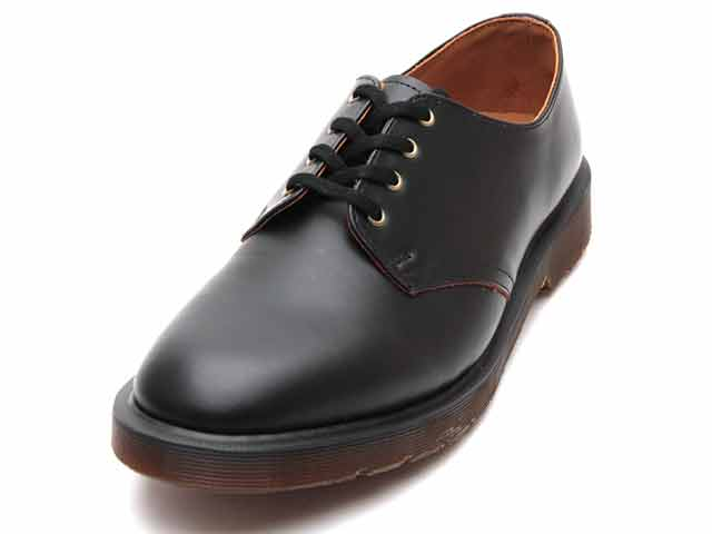 ARCHIVE SMITH 4EYE SHOE(16056001)BLACK VINTAGE SMOOTHのメイン商品写真