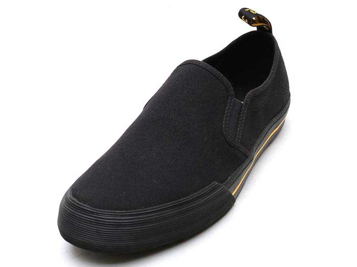 VISTA TOOMEY CANVAS SLIP ON SHOE(21949001)BLACK 10 OZ CANVASのメイン商品写真