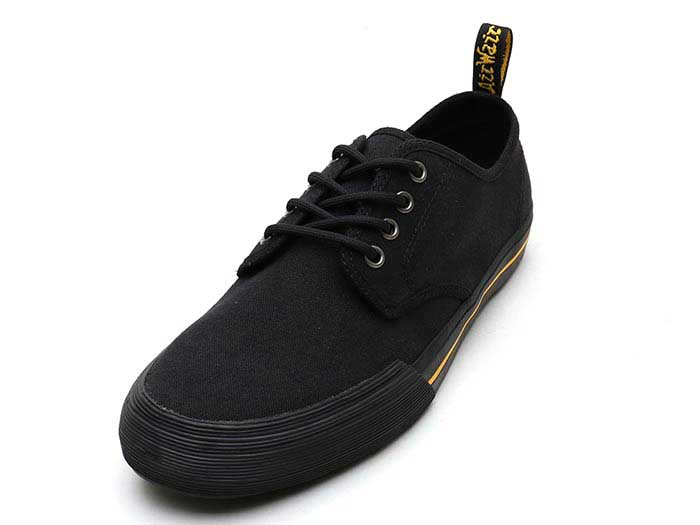VISTA PRESSLER CANVAS SHOE(21951001)BLACK 10 OZ CANVASのメイン商品写真