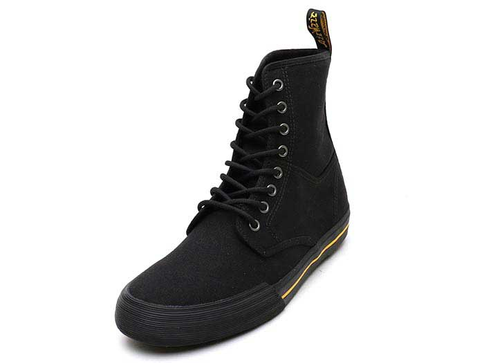 VISTA WINSTED CANVAS 8 EYE BOOT(21953001)BLACK 10 OZ CANVASのメイン商品写真