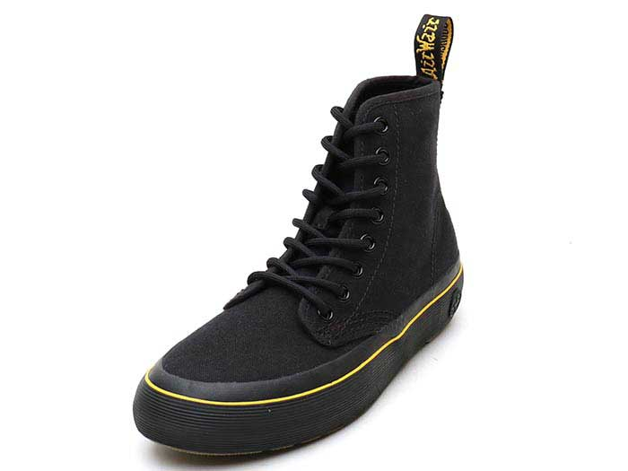 QUEX MONET 8 EYE BOOT(21968001)BLACK FINE CANVAS 詳細ページへ