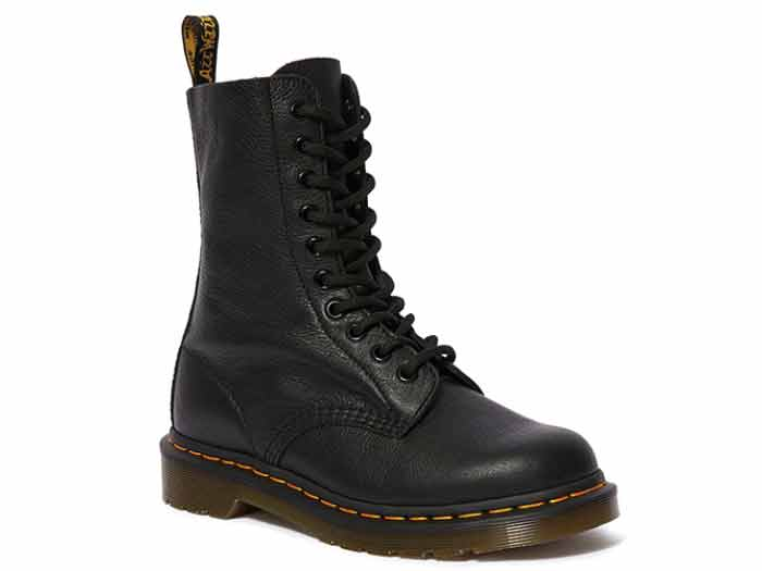 CORE 1490 10EYE BOOT(22524001)BLACK VIRGINIAのメイン商品写真