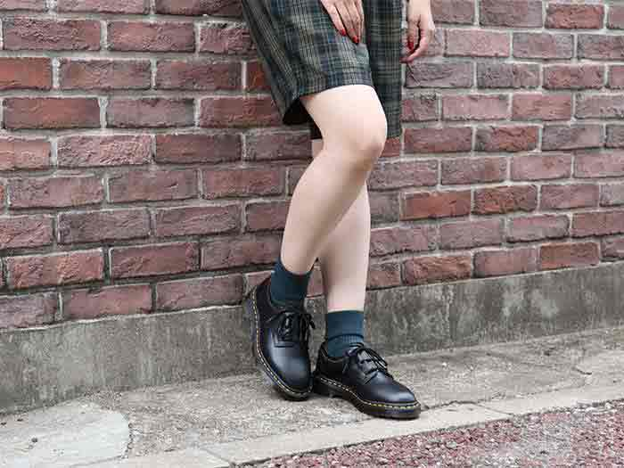 ARCHIVE 1461 GHILLIE SHOE(22695001)BLACK VINTAGE SMOOTHのメインイメージ