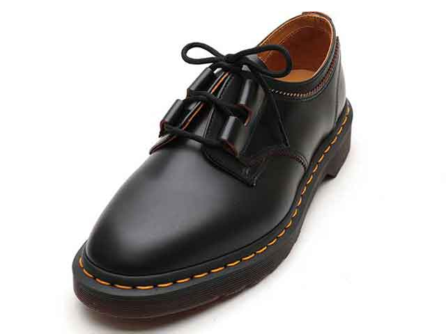 ARCHIVE 1461 GHILLIE SHOE(22695001)BLACK VINTAGE SMOOTHのメイン商品写真