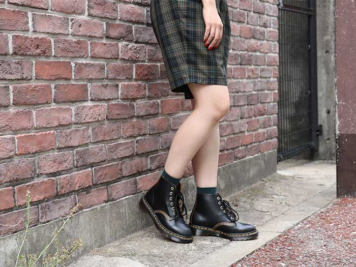 ARCHIVE 101 ARC 6EYE BOOT(22701001)BLACK VINTAGE SMOOTHのメインイメージ