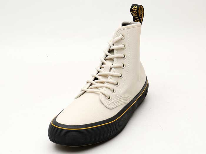 QUEX MONET 8EYE BOOT(23548115)BONE CANVAS 商品写真