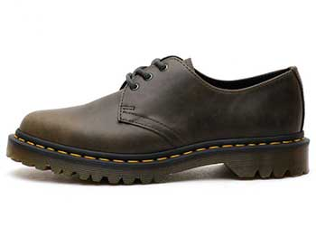 CORE 1461 3EYE SHOE(23775302)DARK TAUPE ORLEANS 左横向き写真