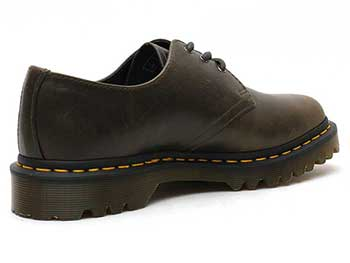 CORE 1461 3EYE SHOE(23775302)DARK TAUPE ORLEANS 左斜め後ろ写真