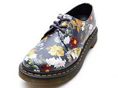 CORE PRINT 1461 DF 3EYE SHOE(23873417)DM'S NAVY DARCY FLORAL BACKHAND STRAW GRAIN詳細ページへ