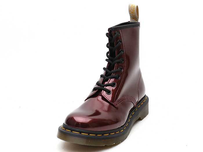 VEGAN 1460 CHROME 8EYE BOOT(23922601)OXBLOOD CHROME PAINT METALLICの商品メイン写真