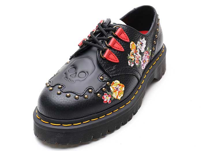 CORE BEX SEROVA 3TIE SHOE(24073001)BLACK AUNT SALLYのメイン商品写真
