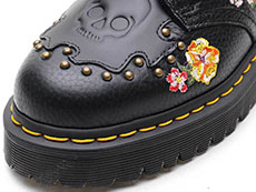 CORE BEX SEROVA 3TIE SHOE(24073001)BLACK AUNT SALLYのトゥ部分イメージ