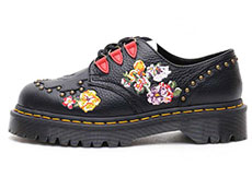 CORE BEX SEROVA 3TIE SHOE(24073001)BLACK AUNT SALLYの左横向きイメージ