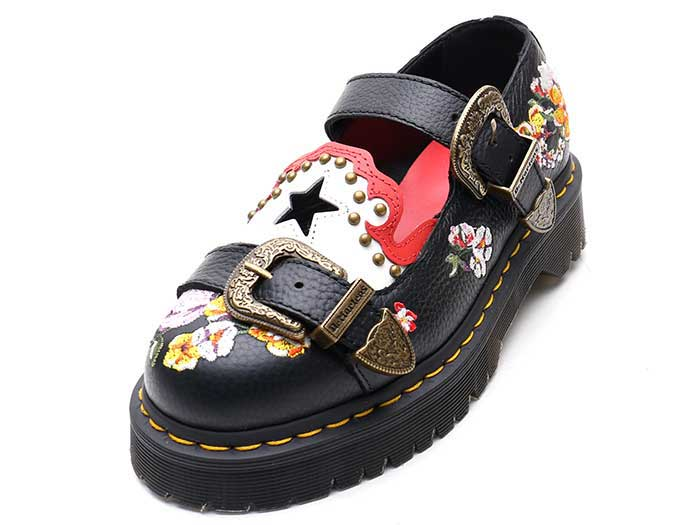 CORE BEX MUKAI MARY JANE SHOE(24074001)BLACK AUNT SALLYのメイン商品写真