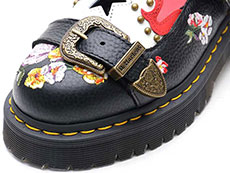 CORE BEX MUKAI MARY JANE SHOE(24074001)BLACK AUNT SALLYのトゥ部分イメージ