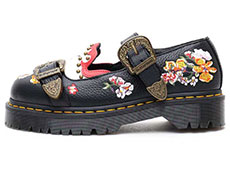 CORE BEX MUKAI MARY JANE SHOE(24074001)BLACK AUNT SALLYの左横向きイメージ