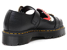 CORE BEX MUKAI MARY JANE SHOE(24074001)BLACK AUNT SALLYの右斜め後ろ向きイメージ