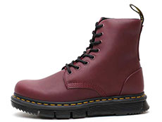 CUBE FLEX LEXINGTON 8EYE BOOT(24144606)BURGUNDY SENDALの左横向き写真
