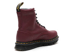 CUBE FLEX LEXINGTON 8EYE BOOT(24144606)BURGUNDY SENDALの右斜め後ろ向き写真