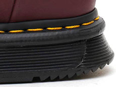 CUBE FLEX LEXINGTON 8EYE BOOT(24144606)BURGUNDY SENDALのヒール写真