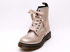 CORE PASCAL GLITTER 8EYE BOOT(24320714)PALE GOLD GLITTER PU詳細ページへ