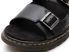 REVIVE NIKOLAI SLIDE SANDAL(24413001)BLACK WESTFIELDのトゥ部分イメージ