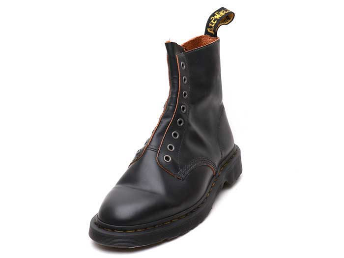 CORE 1460 LL 8EYE BOOT(24555001)BLACK VINTAGE SMOOTHのメイン商品写真