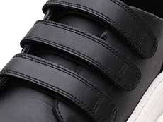 VIBE DANTE STRAP VELCRO SHOE(24596001)BLACK SOFTY T ストラップ部分写真