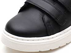 VIBE DANTE STRAP VELCRO SHOE(24596001)BLACK SOFTY T トゥ部分写真