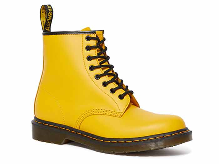 ICONS 1460 8EYE BOOT(24614700)YELLOW SMOOTHの商品メイン写真
