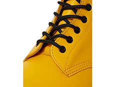 ICONS 1460 8EYE BOOT(24614700)YELLOW SMOOTHのホール部分写真