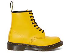 ICONS 1460 8EYE BOOT(24614700)YELLOW SMOOTHの左横向き写真