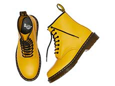 ICONS 1460 8EYE BOOT(24614700)YELLOW SMOOTHのヒール写真