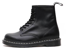 CORE 1460Z WHT WELT 8EYE BOOT(24758001)BLACK SMOOTHの左横向き写真