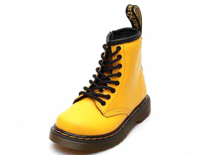 CORE KIDS 1460 T INFANTS LACE BOOT(24831700)YELLOW ROMARIO(SMOOTHER FINISH)のメイン商品写真