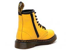 CORE KIDS 1460 T INFANTS LACE BOOT(24831700)YELLOW ROMARIO(SMOOTHER FINISH)の右斜め後ろ向き写真